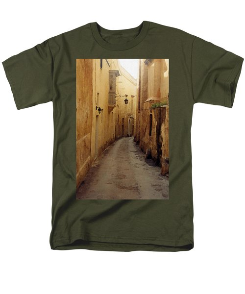 Men's T-Shirt  (Regular Fit) featuring the photograph Streets Of Malta by Debbie Karnes