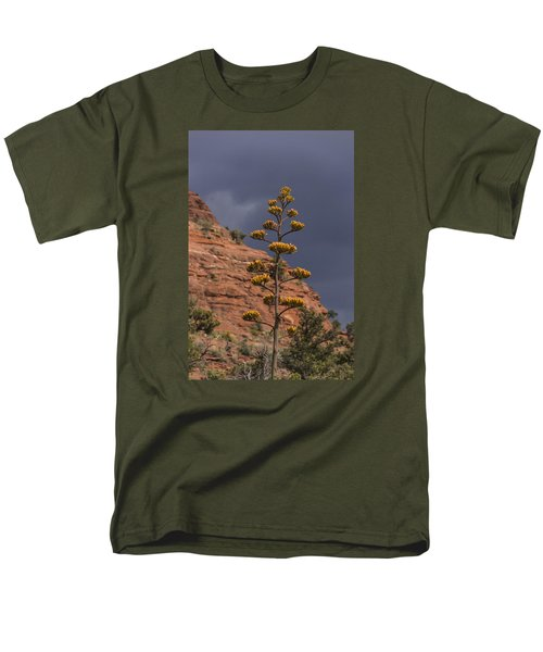 Stretching Into A Threatening Sky Men's T-Shirt  (Regular Fit) by Laura Pratt