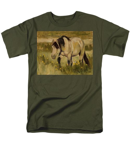 Men's T-Shirt  (Regular Fit) featuring the painting Summer Days by Billie Colson