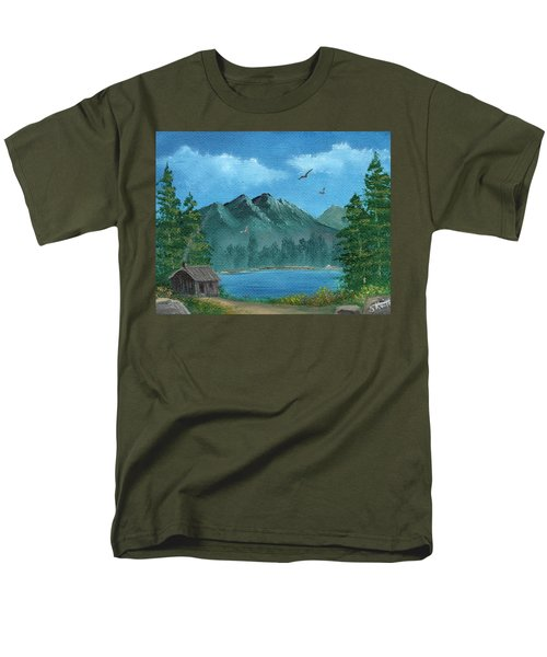 Summer In The Mountains Men's T-Shirt  (Regular Fit) by Sheri Keith