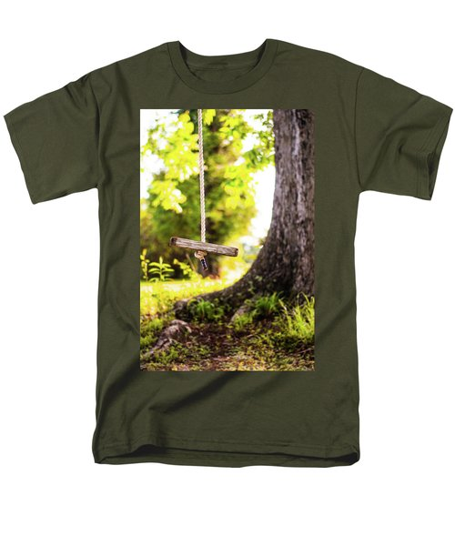 Men's T-Shirt  (Regular Fit) featuring the photograph Summer Memories On The Farm by Shelby Young