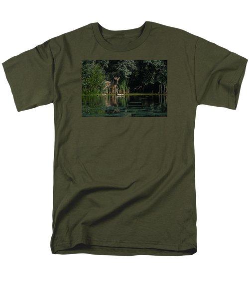 Summer Morning Walk Men's T-Shirt  (Regular Fit) by Ernie Echols
