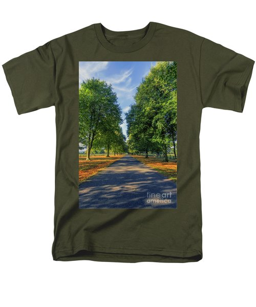 Summer Road Men's T-Shirt  (Regular Fit) by Ian Mitchell