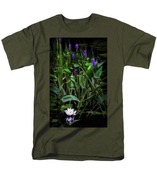 Men's T-Shirt  (Regular Fit) featuring the photograph Summer Swamp 2017 by Bill Wakeley