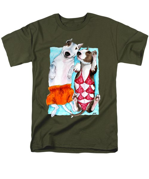 Men's T-Shirt  (Regular Fit) featuring the painting Summer Time by Jindra Noewi