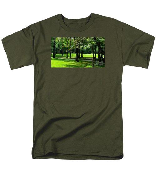 Men's T-Shirt  (Regular Fit) featuring the photograph Summer Walk by Geraldine DeBoer