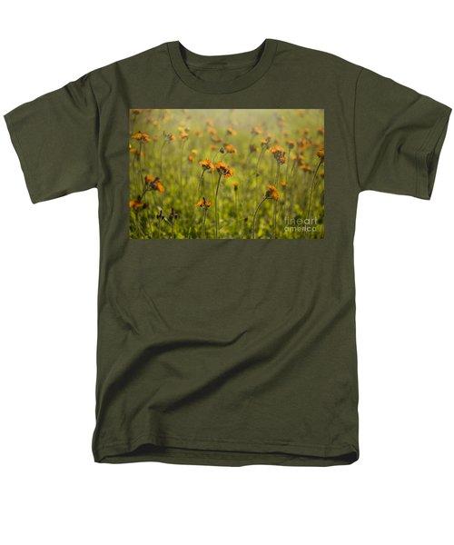 Summer Wildflowers Men's T-Shirt  (Regular Fit) by Diane Diederich