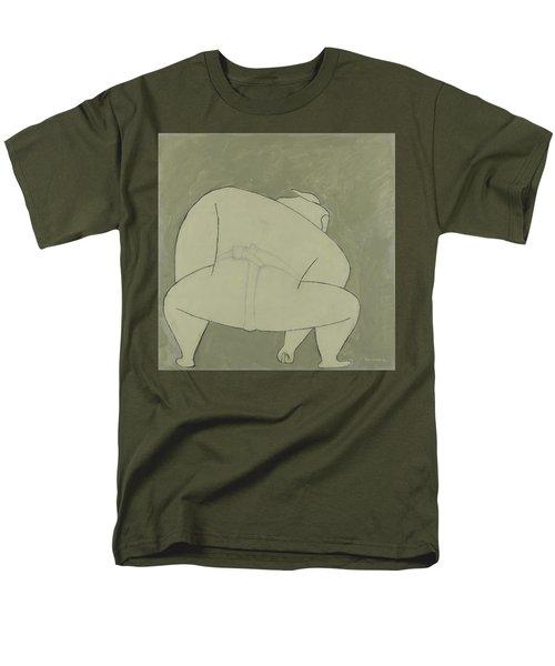 Sumo Wrestler Men's T-Shirt  (Regular Fit) by Ben Gertsberg