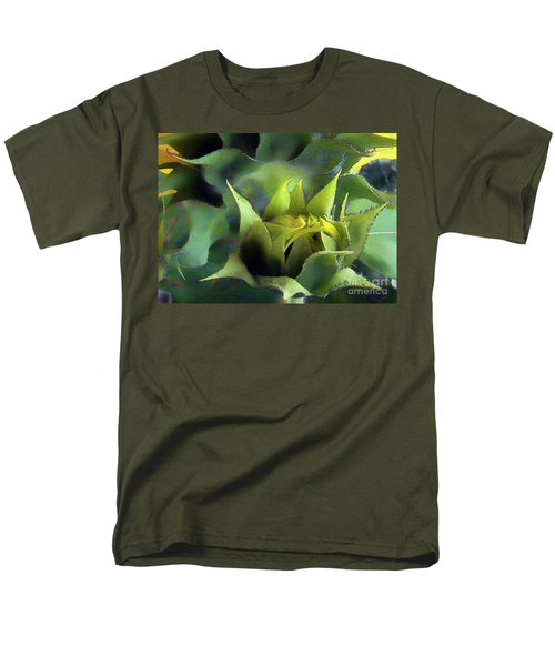 Sun Birthing Men's T-Shirt  (Regular Fit) by Betsy Zimmerli