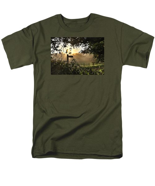 Men's T-Shirt  (Regular Fit) featuring the photograph Sun Sign by RKAB Works