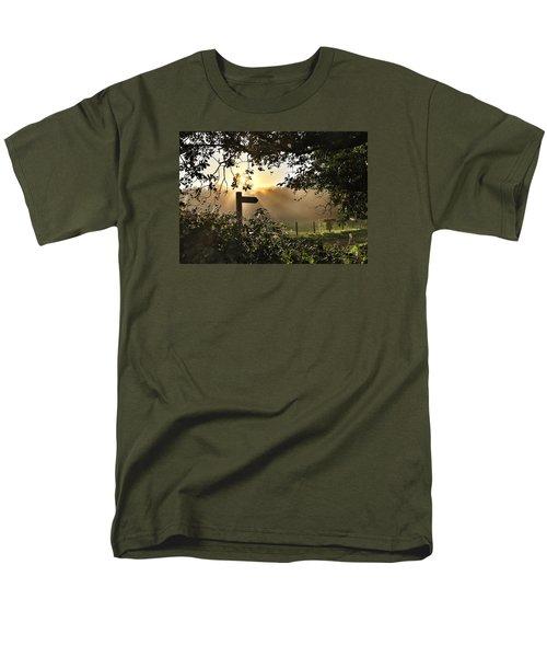 Sun Sign Men's T-Shirt  (Regular Fit) by RKAB Works