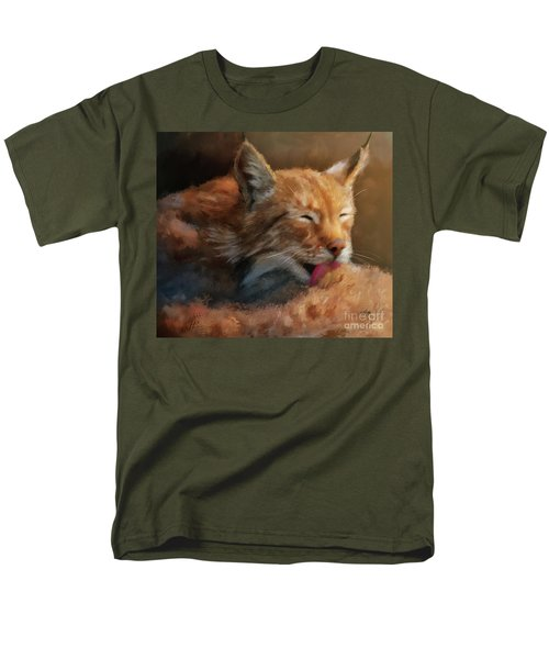 Men's T-Shirt  (Regular Fit) featuring the photograph Sunbathing by Lois Bryan