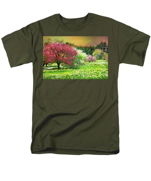 Men's T-Shirt  (Regular Fit) featuring the photograph Sunday My Day by Diana Angstadt