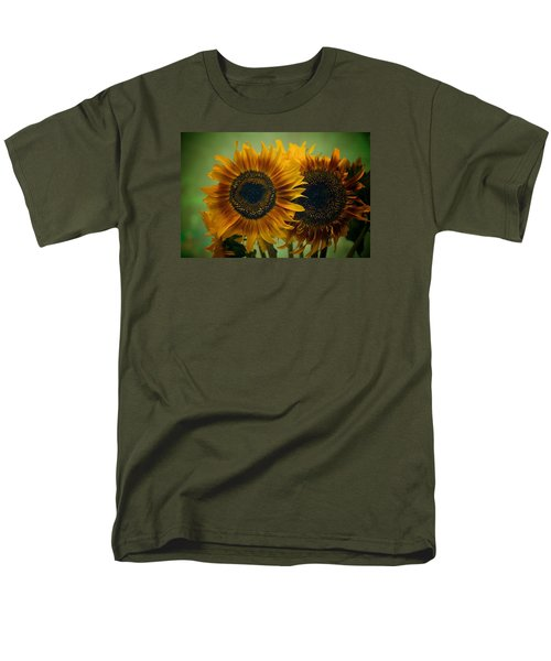 Sunflower 2 Men's T-Shirt  (Regular Fit) by Simone Ochrym
