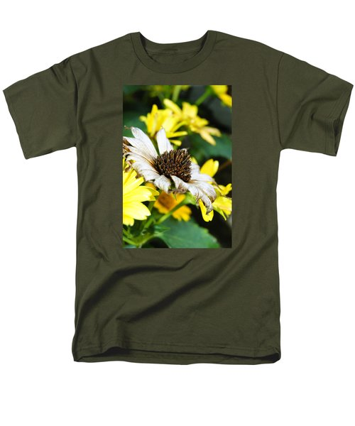 Men's T-Shirt  (Regular Fit) featuring the photograph Sunflower Promise by Margie Avellino