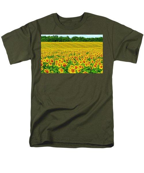 Sunflower Men's T-Shirt  (Regular Fit) by Thomas M Pikolin