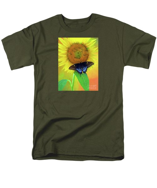 Sunflower With Company Men's T-Shirt  (Regular Fit) by Marion Johnson