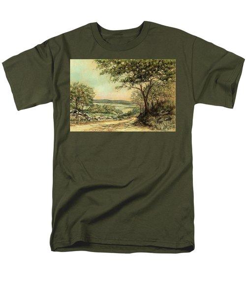 Sunny Bushveld Men's T-Shirt  (Regular Fit) by Heidi Kriel