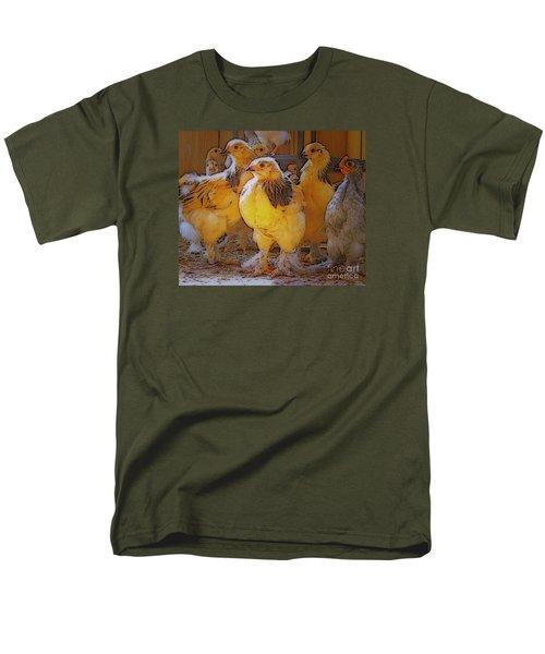 Sunny Chicks Men's T-Shirt  (Regular Fit) by Ruanna Sion Shadd a'Dann'l Yoder