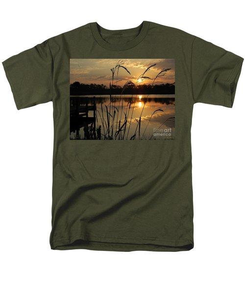 Sunrise At Grayton Beach Men's T-Shirt  (Regular Fit) by Robert Meanor