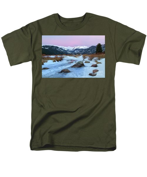 Sunrise At Rocky Mountain National Park Men's T-Shirt  (Regular Fit) by Ronda Kimbrow