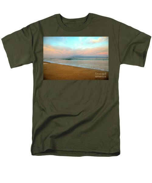 Men's T-Shirt  (Regular Fit) featuring the photograph Sunrise On Ka'anapali by Kelly Wade