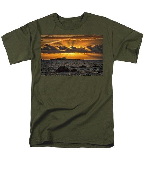 Sunrise Over Rabbit Head Island Men's T-Shirt  (Regular Fit) by Mitch Shindelbower