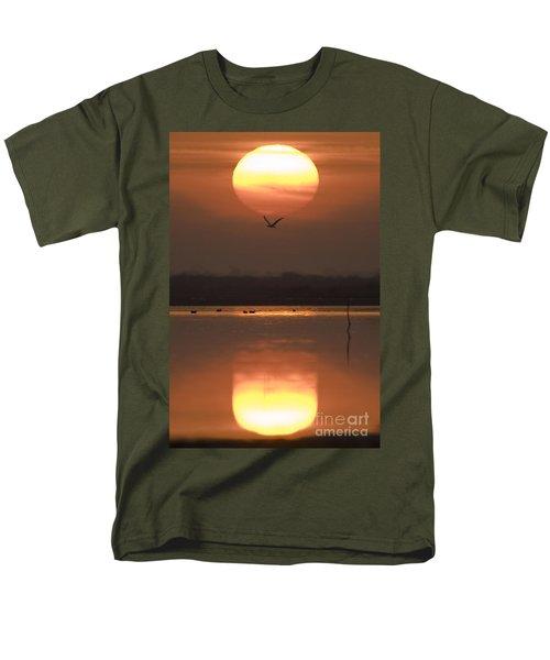 Sunrise Reflection Men's T-Shirt  (Regular Fit) by Hitendra SINKAR