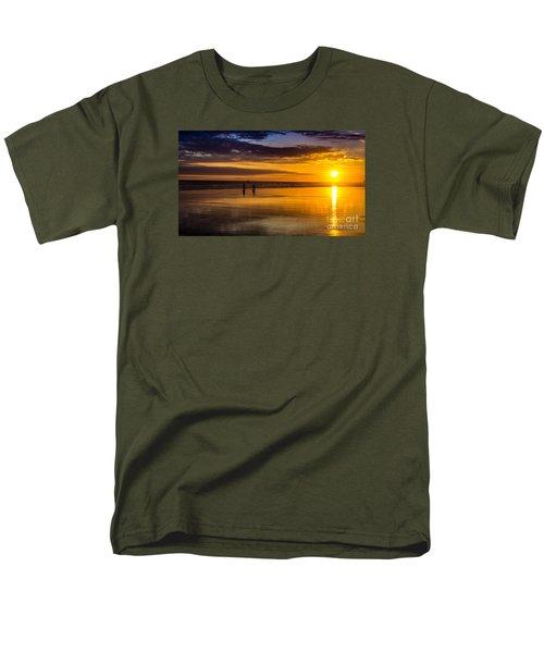 Sunset Bike Ride Men's T-Shirt  (Regular Fit) by David Smith