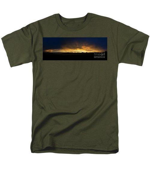 Sunset Clouds Men's T-Shirt  (Regular Fit) by Brian Jones
