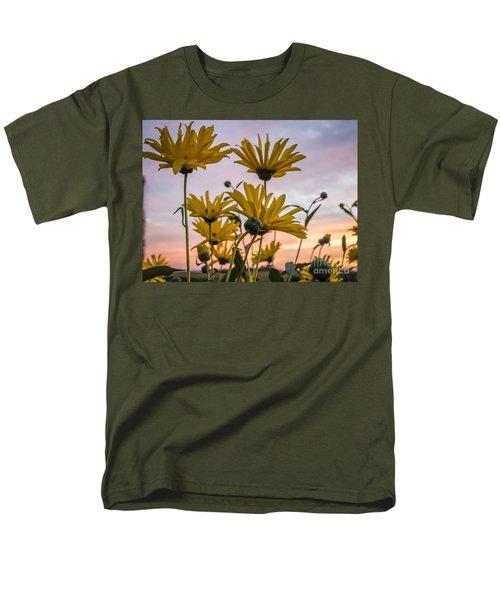 Sunset Delight Men's T-Shirt  (Regular Fit)