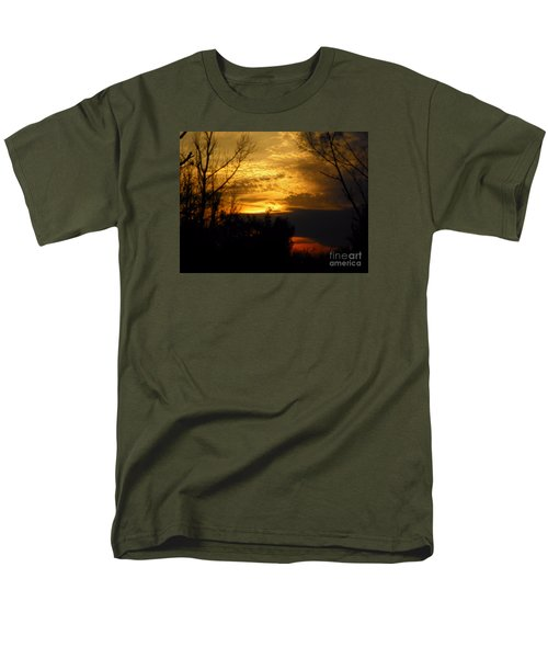 Sunset From Farm Men's T-Shirt  (Regular Fit) by Craig Walters