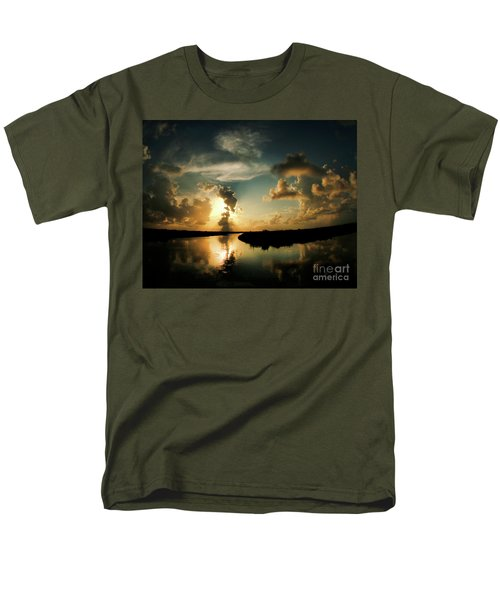 Sunset In Lacombe, La Men's T-Shirt  (Regular Fit) by Luana K Perez