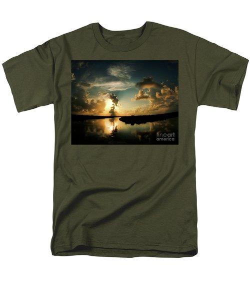 Sunset In Lacombe, La Men's T-Shirt  (Regular Fit) by Luana K Perez