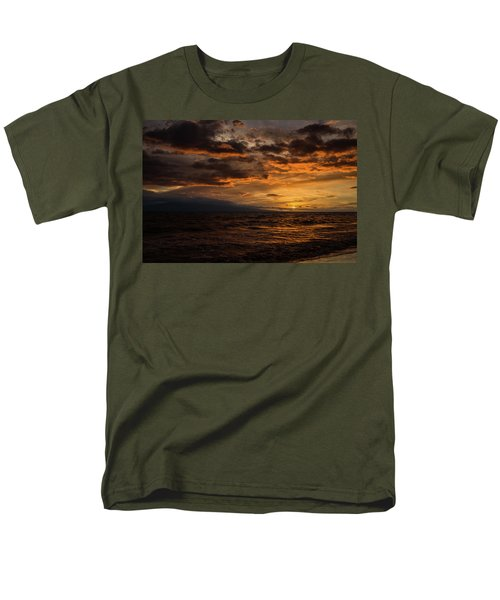 Sunset Over Hawaii Men's T-Shirt  (Regular Fit) by Chris McKenna