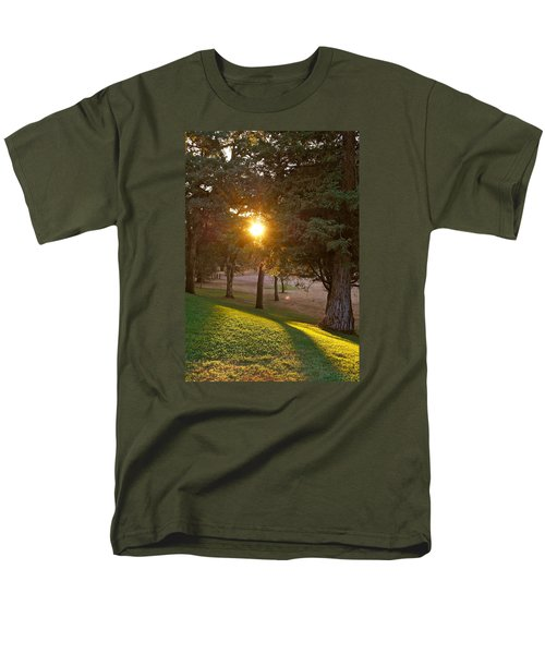 Sunset Retreat Men's T-Shirt  (Regular Fit) by Michele Myers