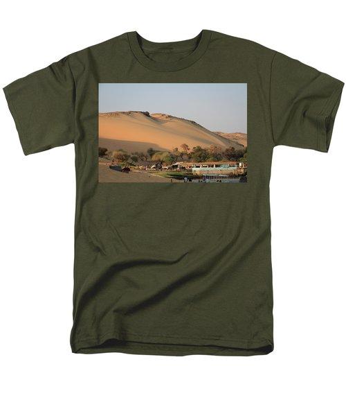 Sunset Men's T-Shirt  (Regular Fit) by Silvia Bruno