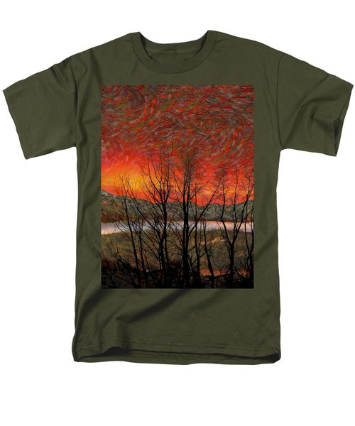 Sunset Soliloquy Men's T-Shirt  (Regular Fit) by Ed Hall