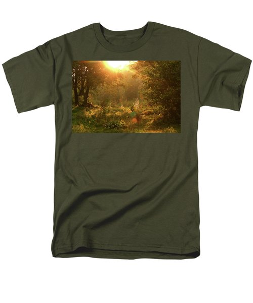Men's T-Shirt  (Regular Fit) featuring the photograph Sunshine In The Meadow by Emanuel Tanjala