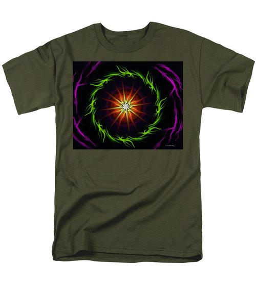 Sunstar Men's T-Shirt  (Regular Fit) by Jennifer Galbraith