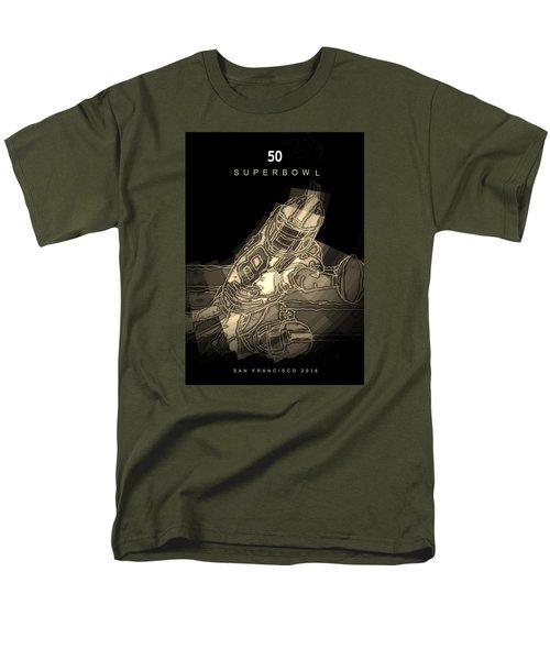 Super Bowl Poster Men's T-Shirt  (Regular Fit)