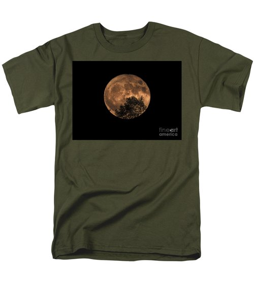 Supermoon Rising Men's T-Shirt  (Regular Fit) by Alana Ranney