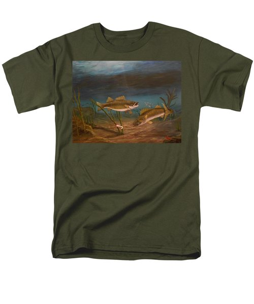 Supper Time Men's T-Shirt  (Regular Fit) by Sheri Keith