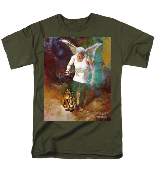Men's T-Shirt  (Regular Fit) featuring the painting Surreal Art  by Gull G