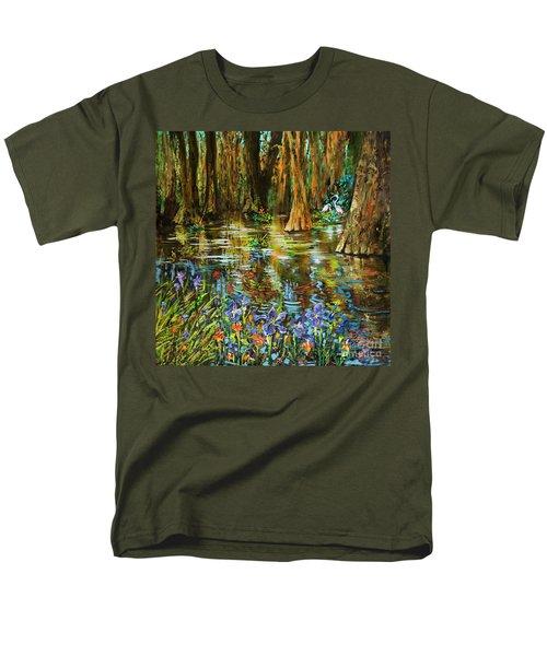 Swamp Iris Men's T-Shirt  (Regular Fit)