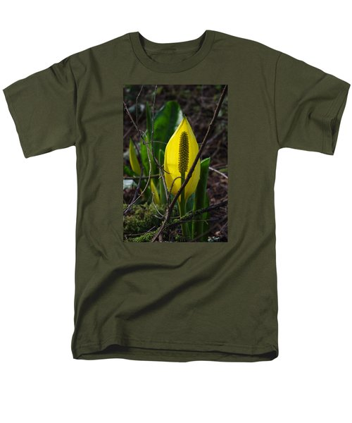 Men's T-Shirt  (Regular Fit) featuring the photograph Swamp Lantern by Adria Trail