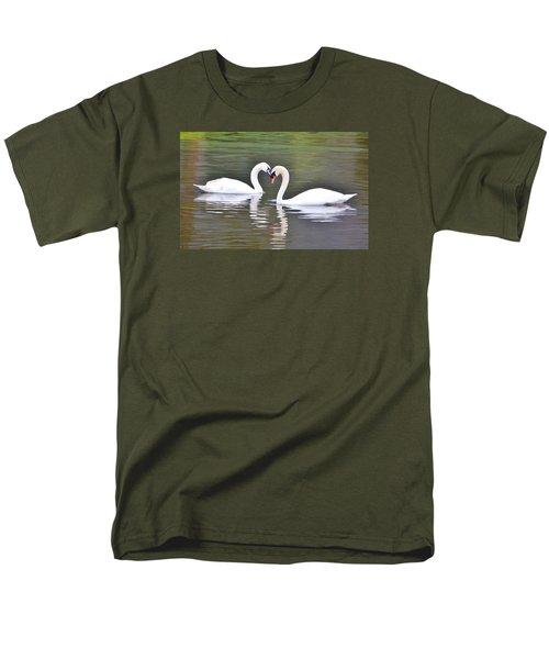 Swan Love Men's T-Shirt  (Regular Fit) by Diane Alexander
