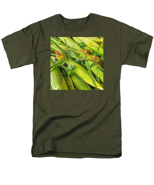 Men's T-Shirt  (Regular Fit) featuring the photograph Sweet Corn by Lewis Mann