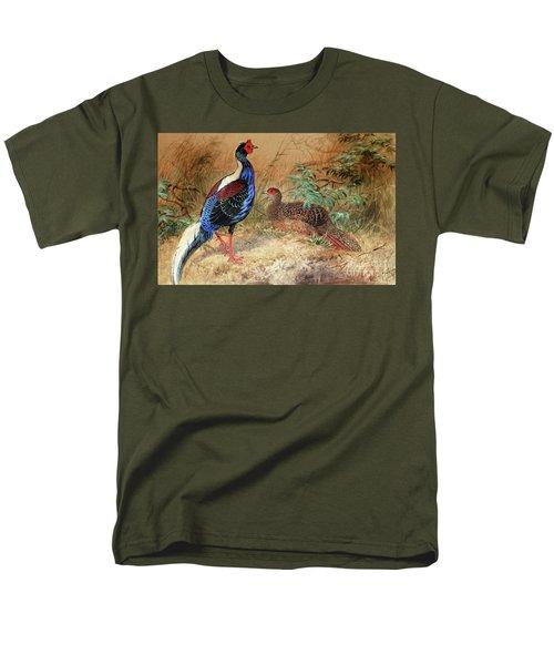 Swinhoe's Pheasant  Men's T-Shirt  (Regular Fit)