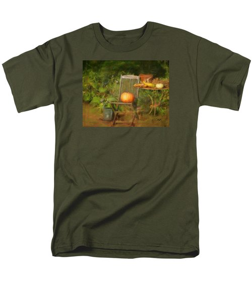 Table For One Men's T-Shirt  (Regular Fit) by Colleen Taylor